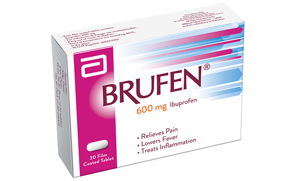 Brufen 400mg tablets