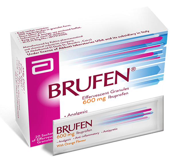Brufen 600mg tablets